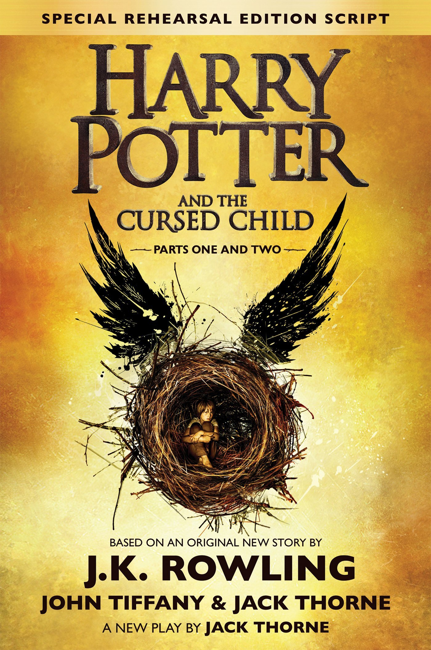 Harry Potter Book Excerpt : Excerpt from harry potter and the cursed child part i ii